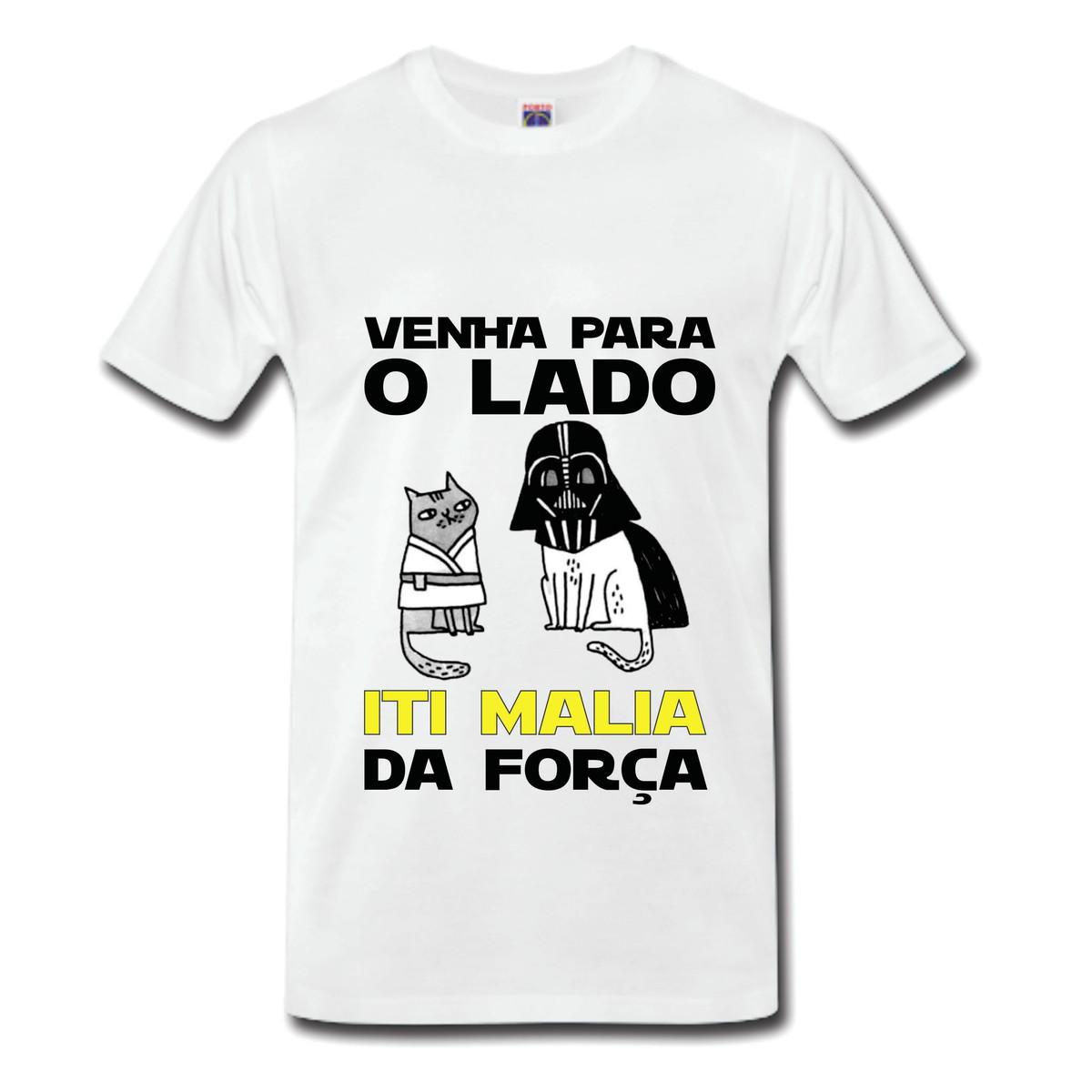 f14c3f947 Camisetas personalizadas com frases - Em poliéster no Elo7