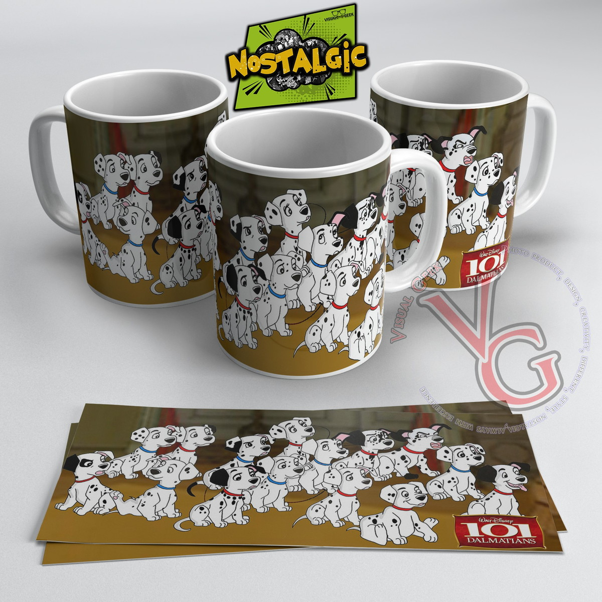 Caneca 101 Dalmatas No Elo7 Visual Geek Cd97c0