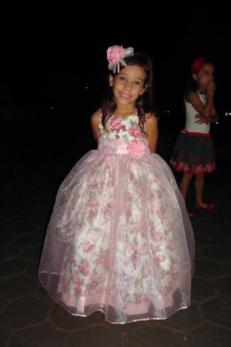 Vestido dama de honra infantil barato