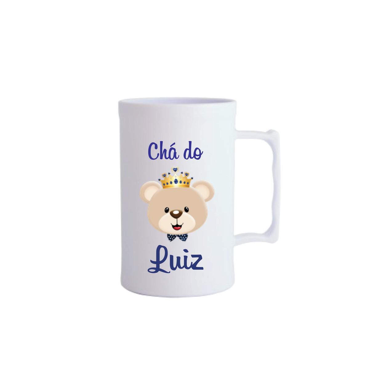 251a23f7d Ursinho Realeza Chá de bebe canecas Personalizado no Elo7