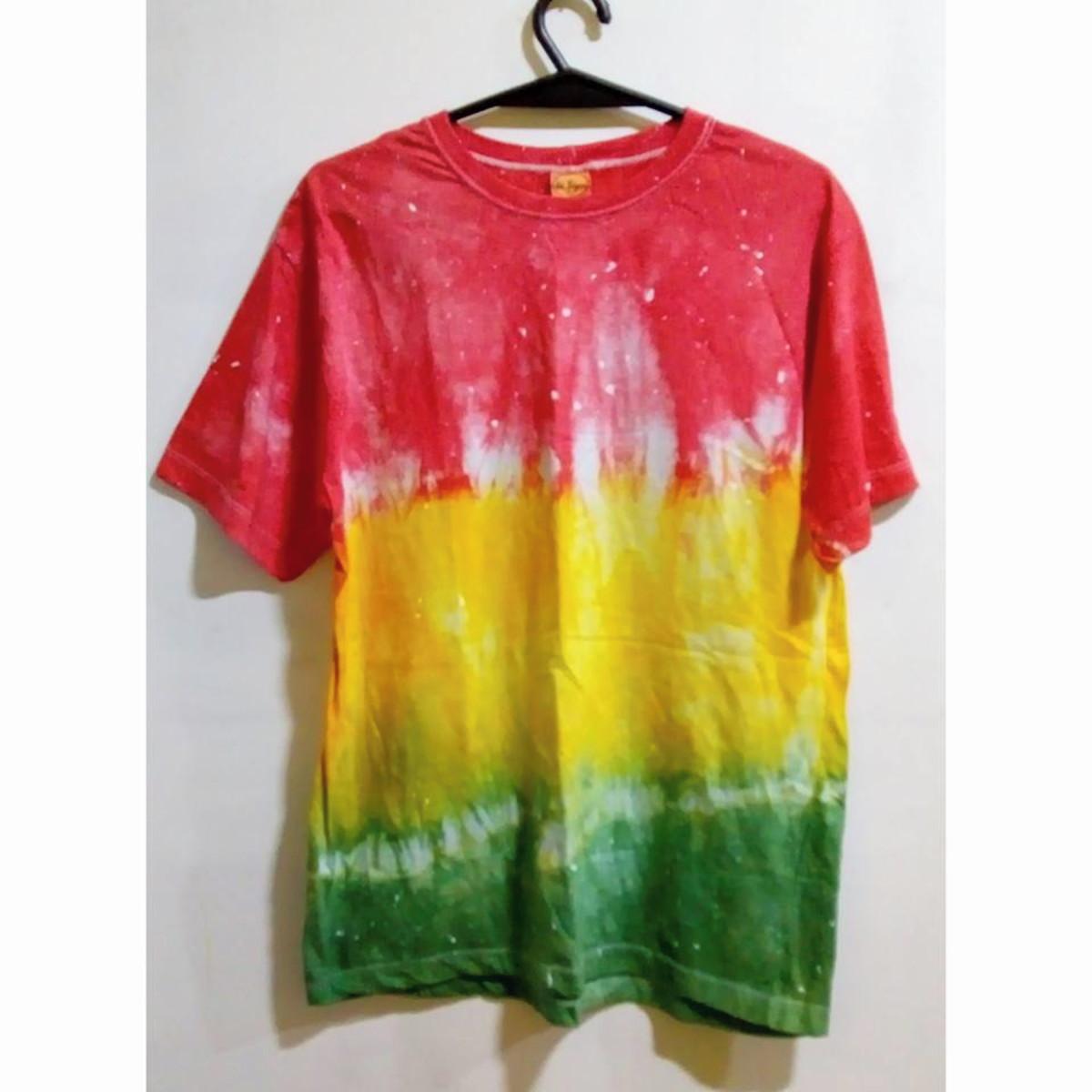Camiseta tie dye Reggae unissex no Elo7  bfaef15b94d