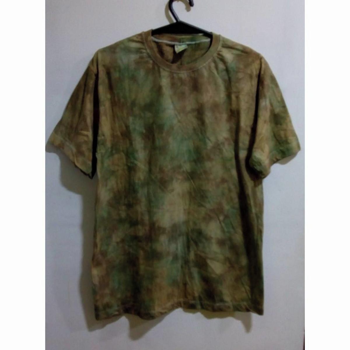 Camiseta tie dye camuflada unissex no Elo7  7cf69999da1