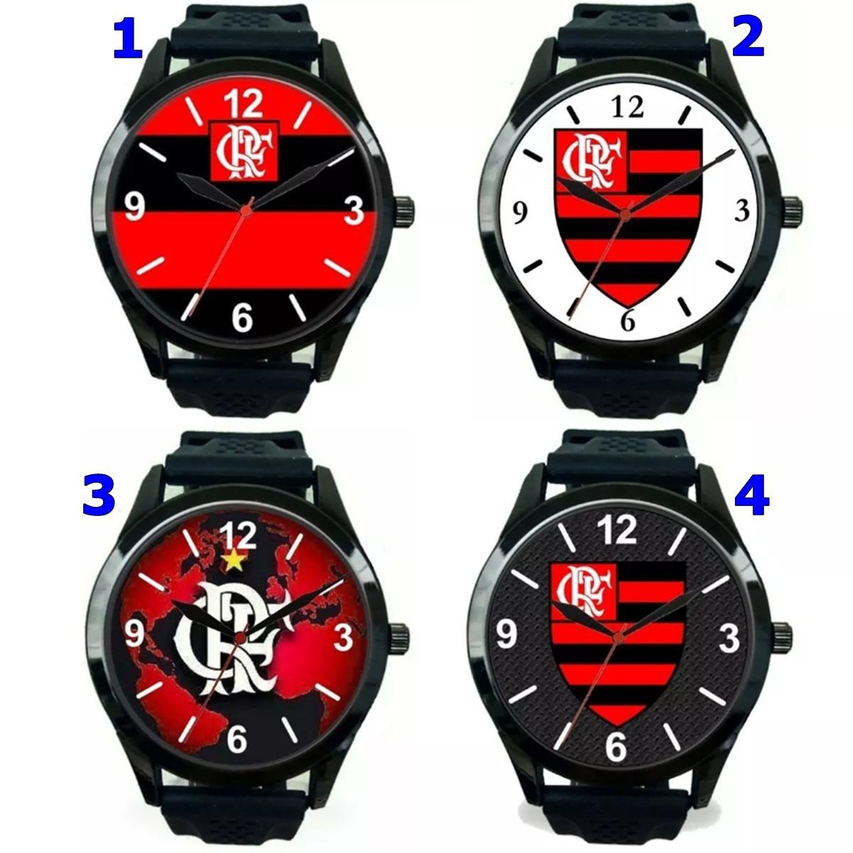 29c10c48328 1 Relógio pulso personalizado esportivo Flamengo barato no Elo7 ...