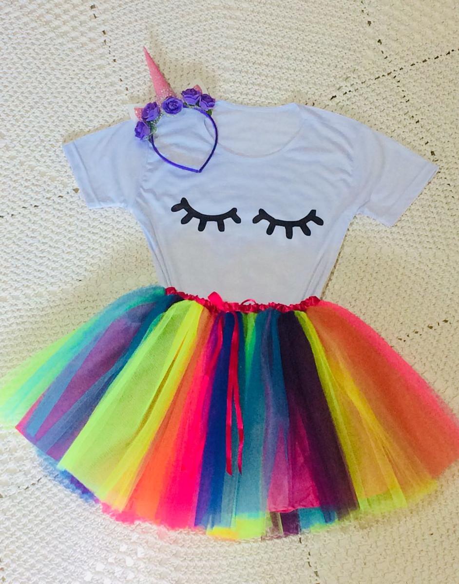 Fantasia Tutu Unicornio Infantil No Elo7 Colore Fantasias E Personalizados Ce0957