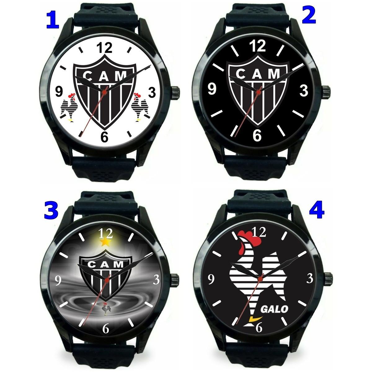 d455f24ce04 1 Relógio pulso personalizado esportivo Atlético MG barato no Elo7 ...