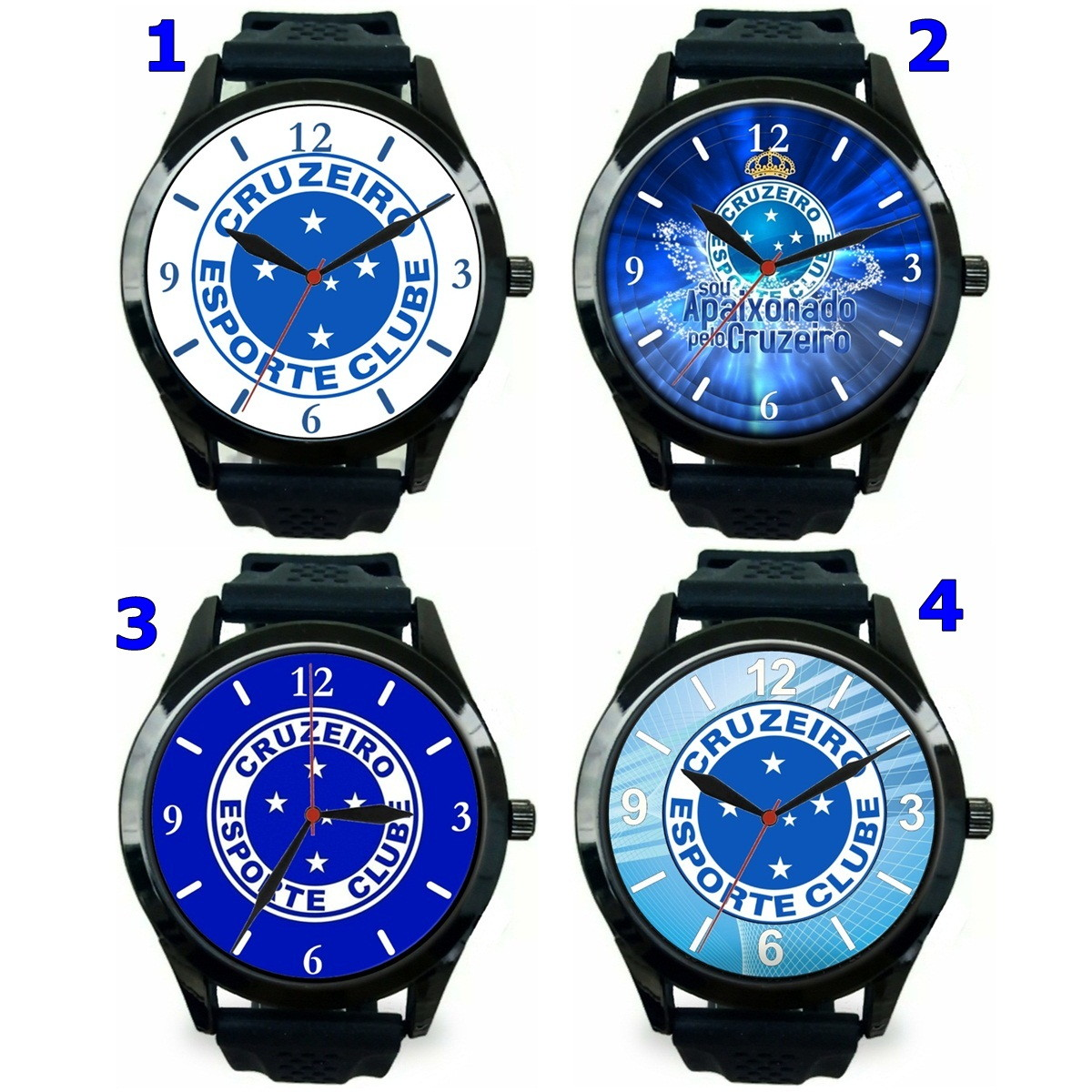 8ba36afee8b 1 Relógio pulso personalizado esportivo Cruzeiro barato no Elo7 ...