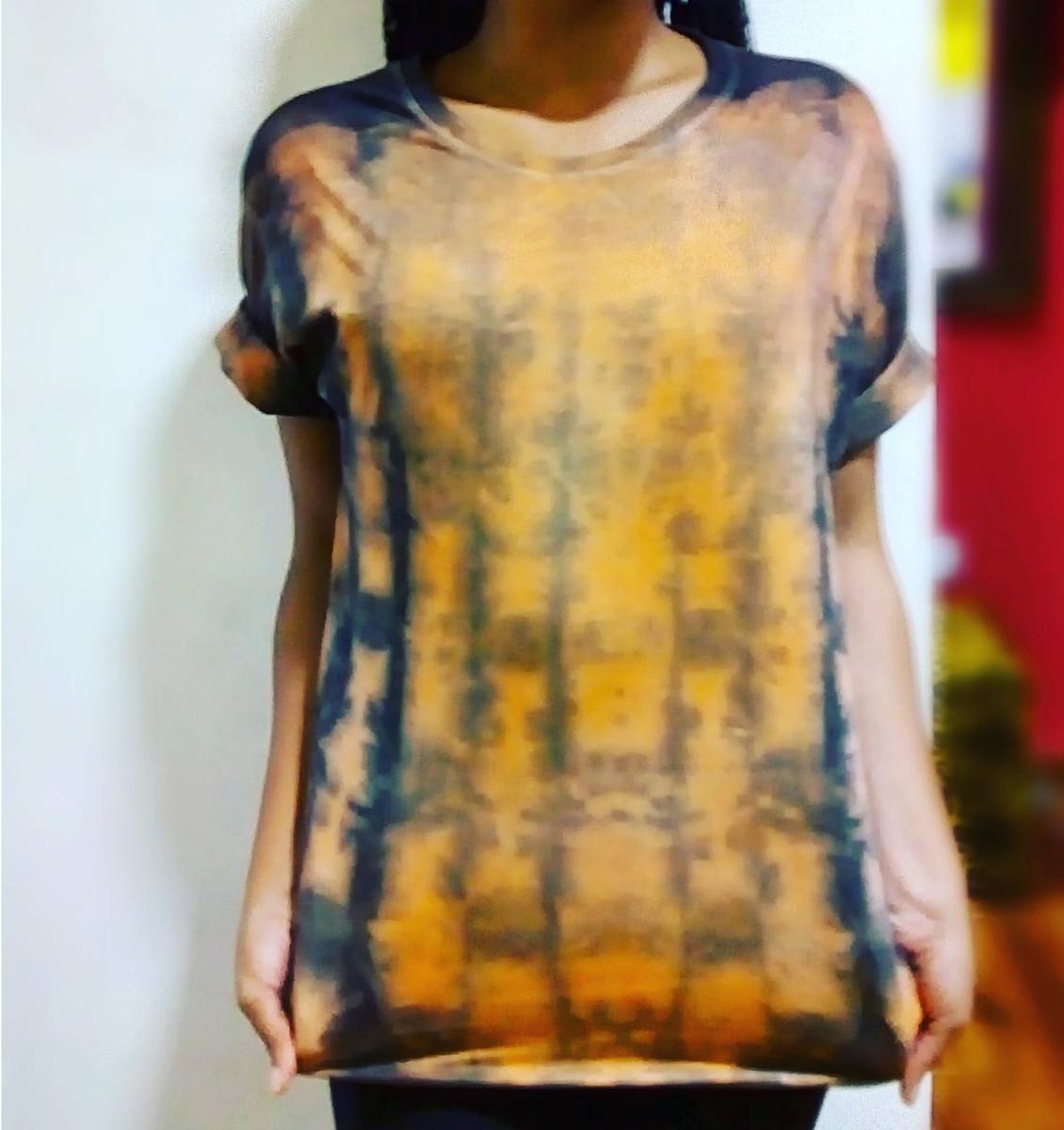 Camiseta tie dye unissex no Elo7  3c2f5db32eb
