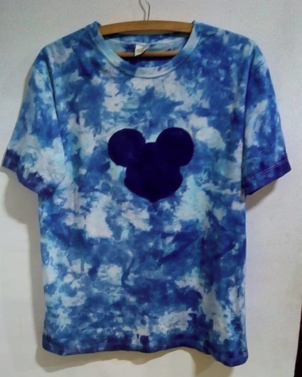 Camiseta tie dye unissex camuflada Mickey no Elo7  7f9b008a2fa