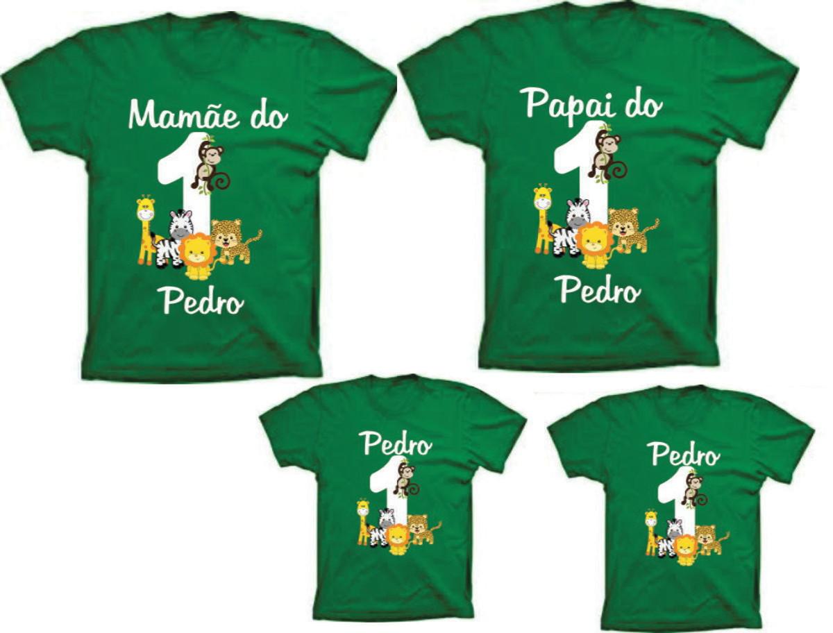 d954f3f809 Camisetas para Aniversario Safari 1 aninho no Elo7