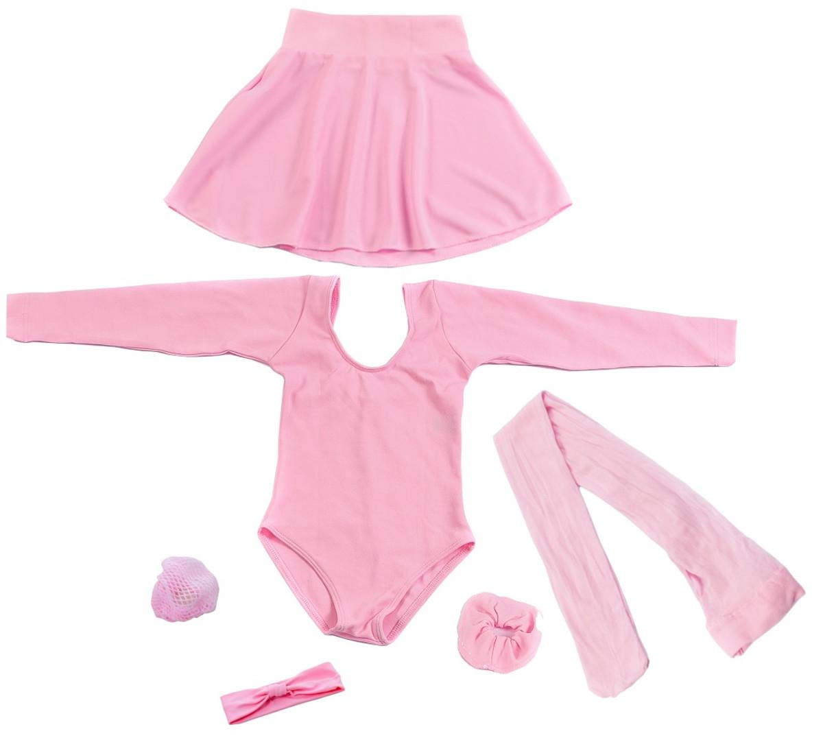 8ff8aa191 kit de Ballet Infantil Manga Longa do 2 ao 6 no Elo7