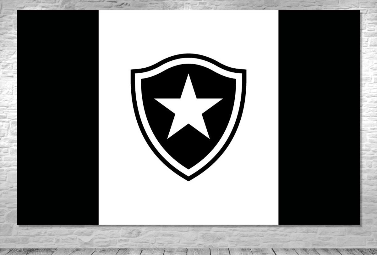 Painel Time Botafogo -Frete Grátis no Elo7  a7562636506bb