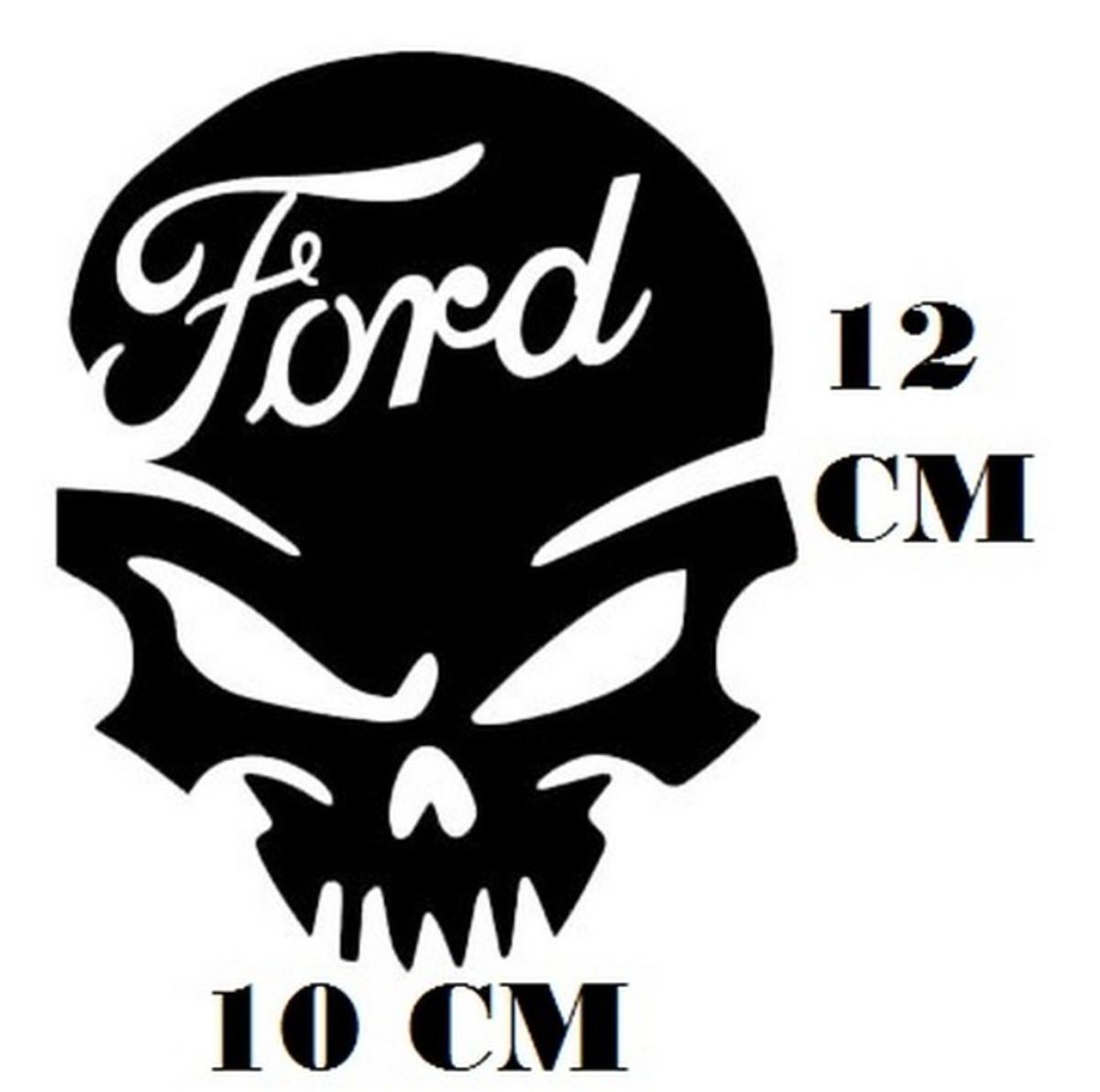 1dec617f3 Adesivo Logo Ford Caveira Frete Grátis no Elo7 | STICKER KING (CE9565)