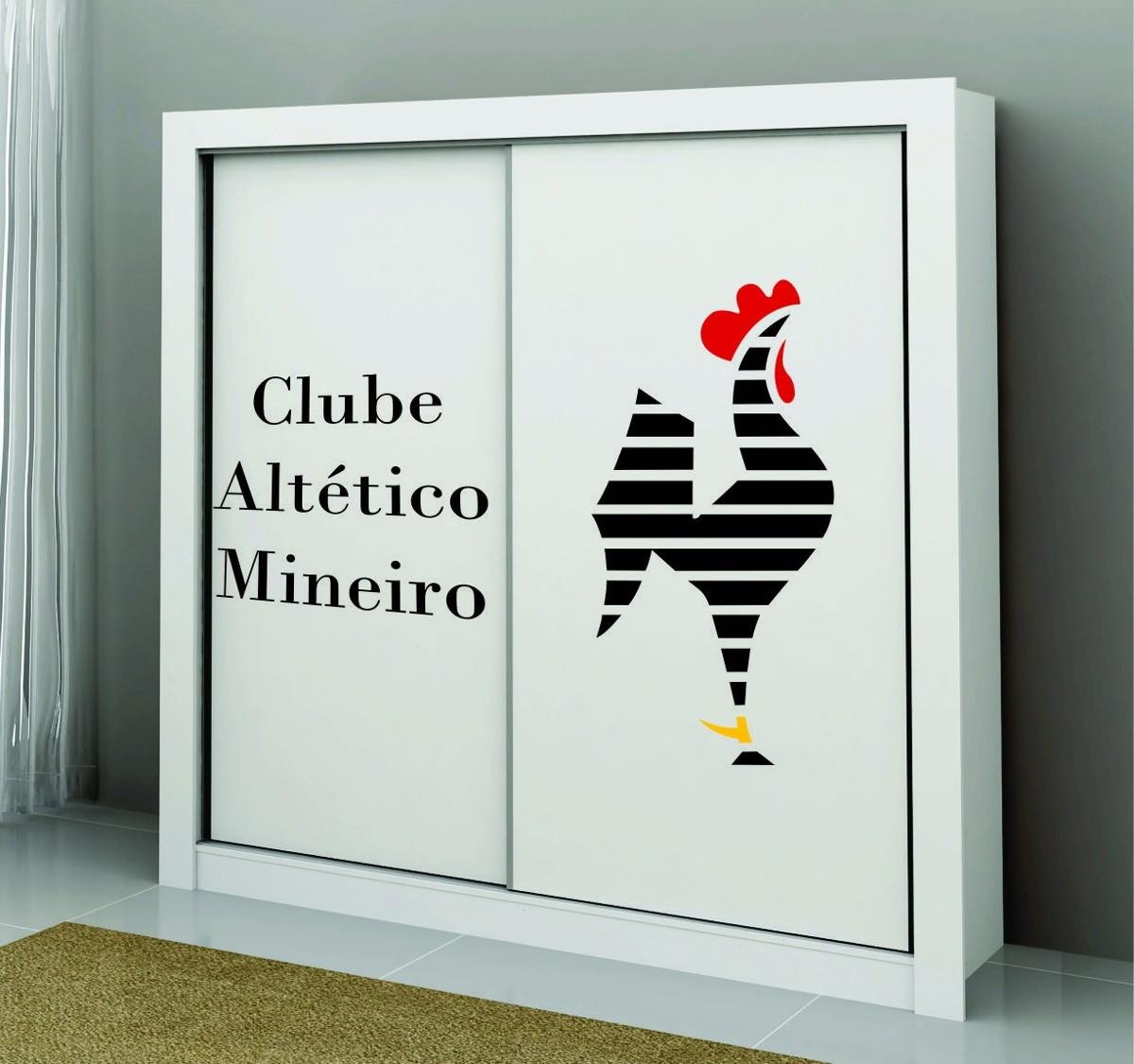 Adesivos Parede Atletico Mineiro Galo Doido Time Clube Grand No Elo7 Adesivos Sempre Viva Cec492