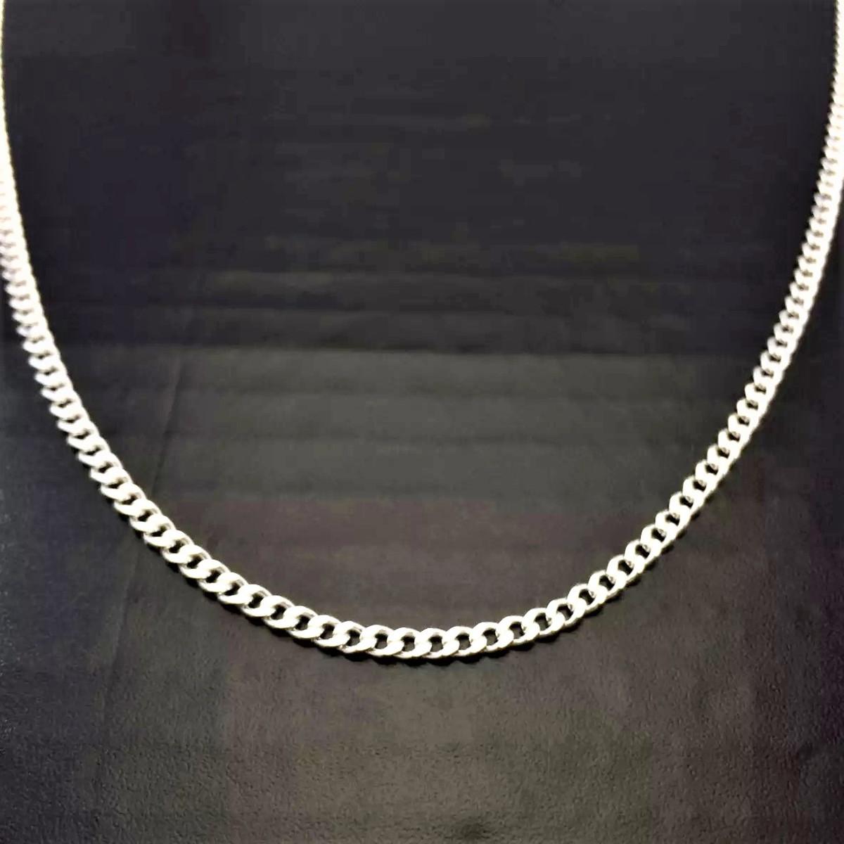 4a05be3968 Corrente Cordão Italiana Masculina Grumet 60cm 3mm Prata 925 no Elo7 ...