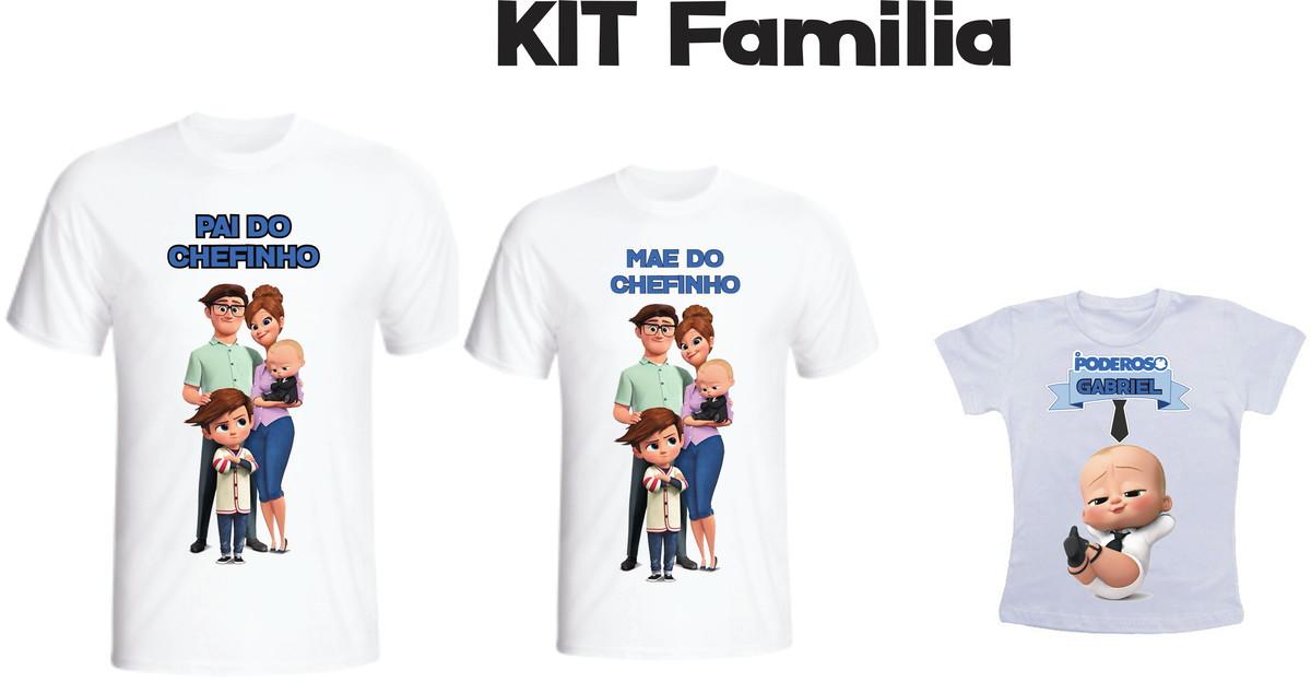Camiseta Poderoso Chefinho Kit  03 camisetas - Personalizada no Elo7 ... c15c18de79cee