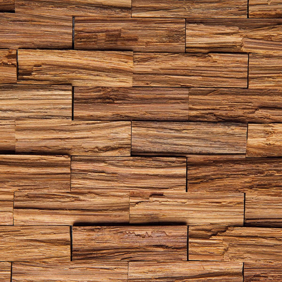 Adesivo de parede papel parede madeira r stica marrom no - Papel autoadhesivo para paredes ...