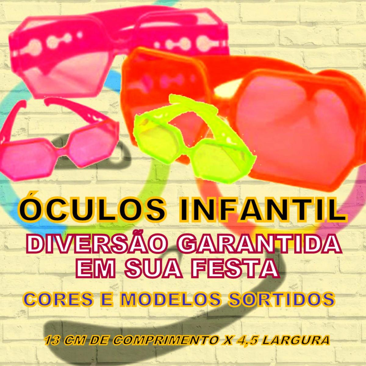 3b203600a744d Óculos de Plástico Infantil -Diversão Garantida na sua Festa no Elo7 ...