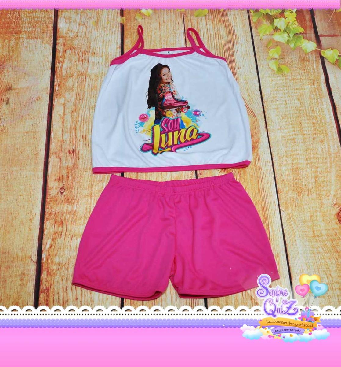 0e1b1b47b BABY DOLL para Festa do Pijama SOY LUNA no Elo7