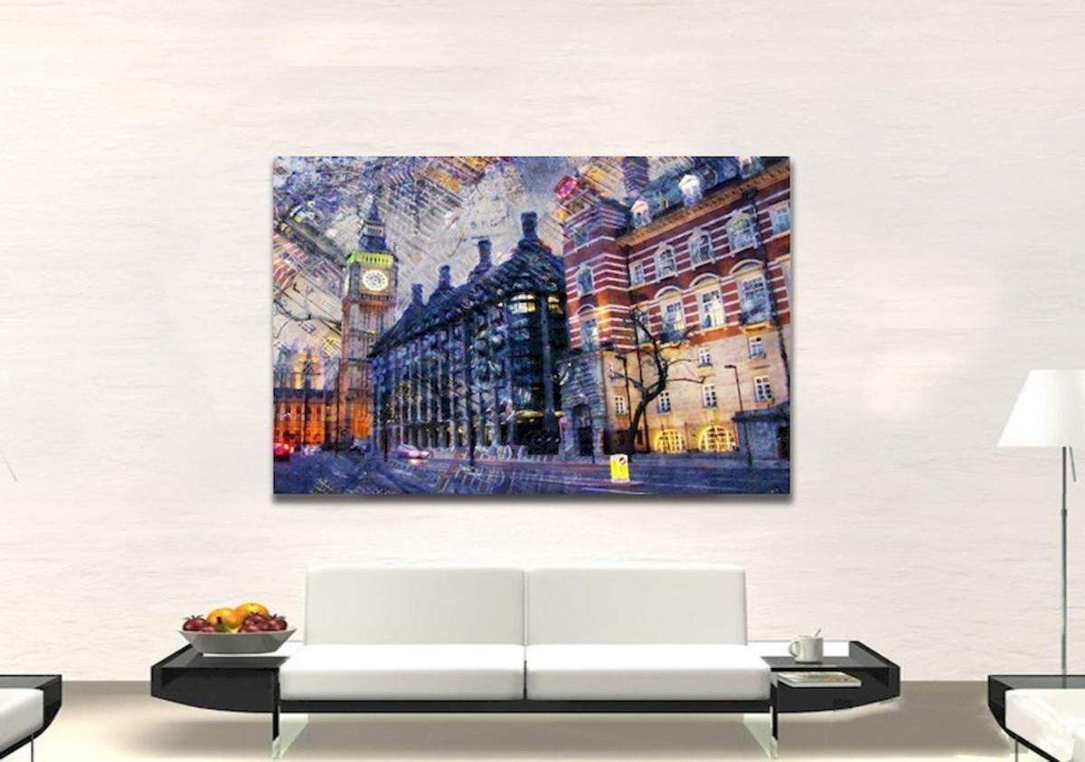 64b1c45ec Quadro Tela Cubos Em Abstrato Decorativo De Sala no Elo7 | Podium ...