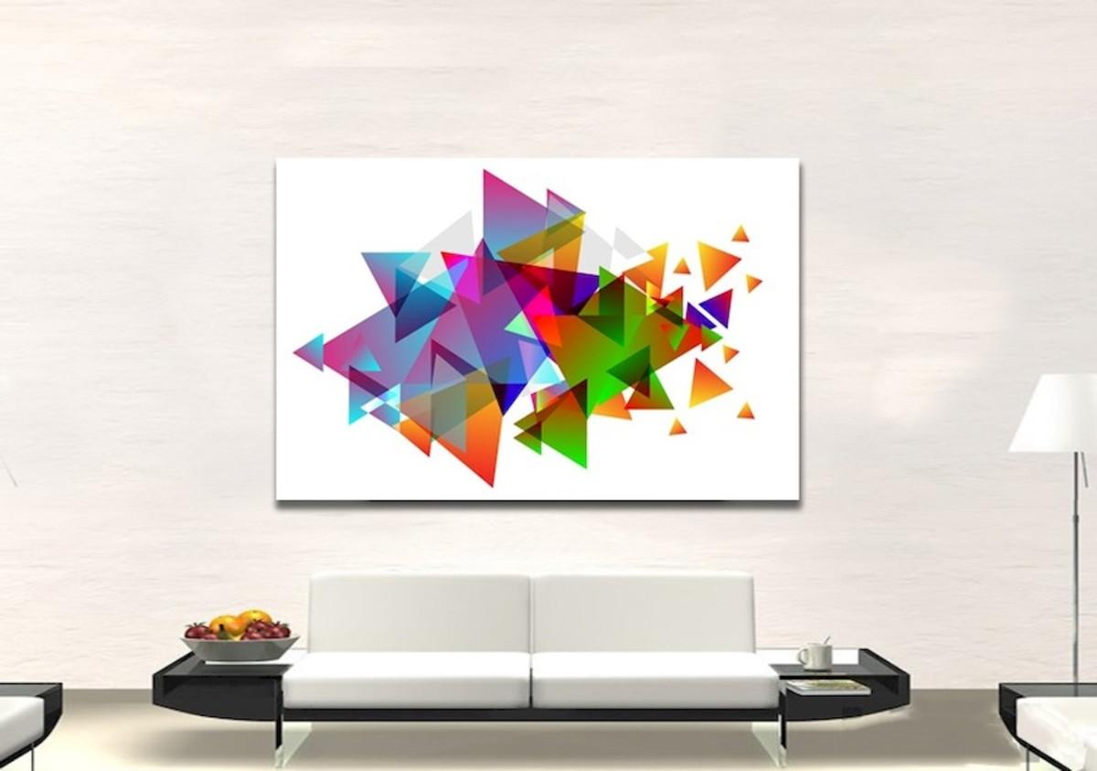 555530bd9 Tela Quadro Em Canvas Moderno Decorativo De Sala Recepção no Elo7 ...