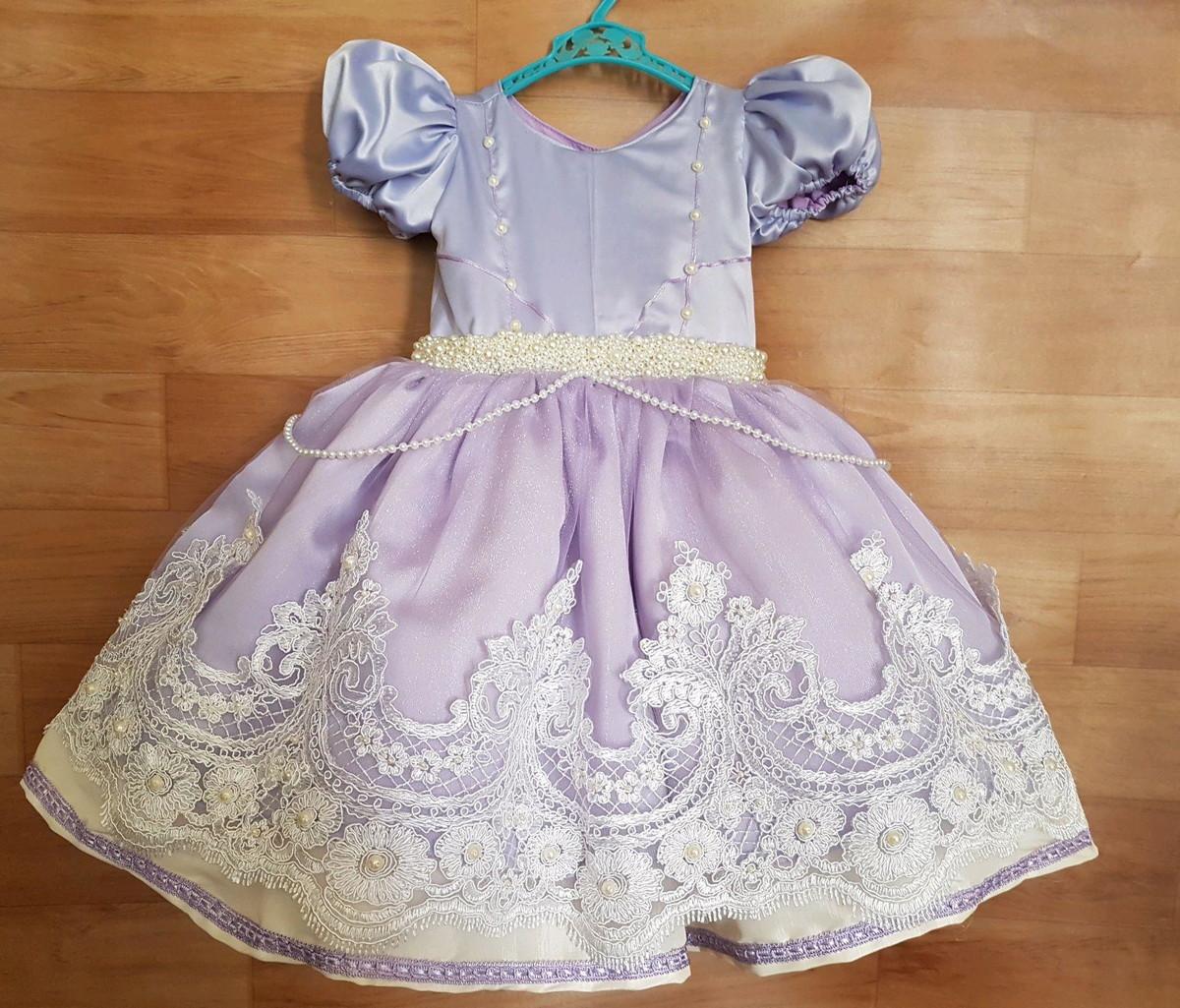 Vestido Princesa Sofia Luxo
