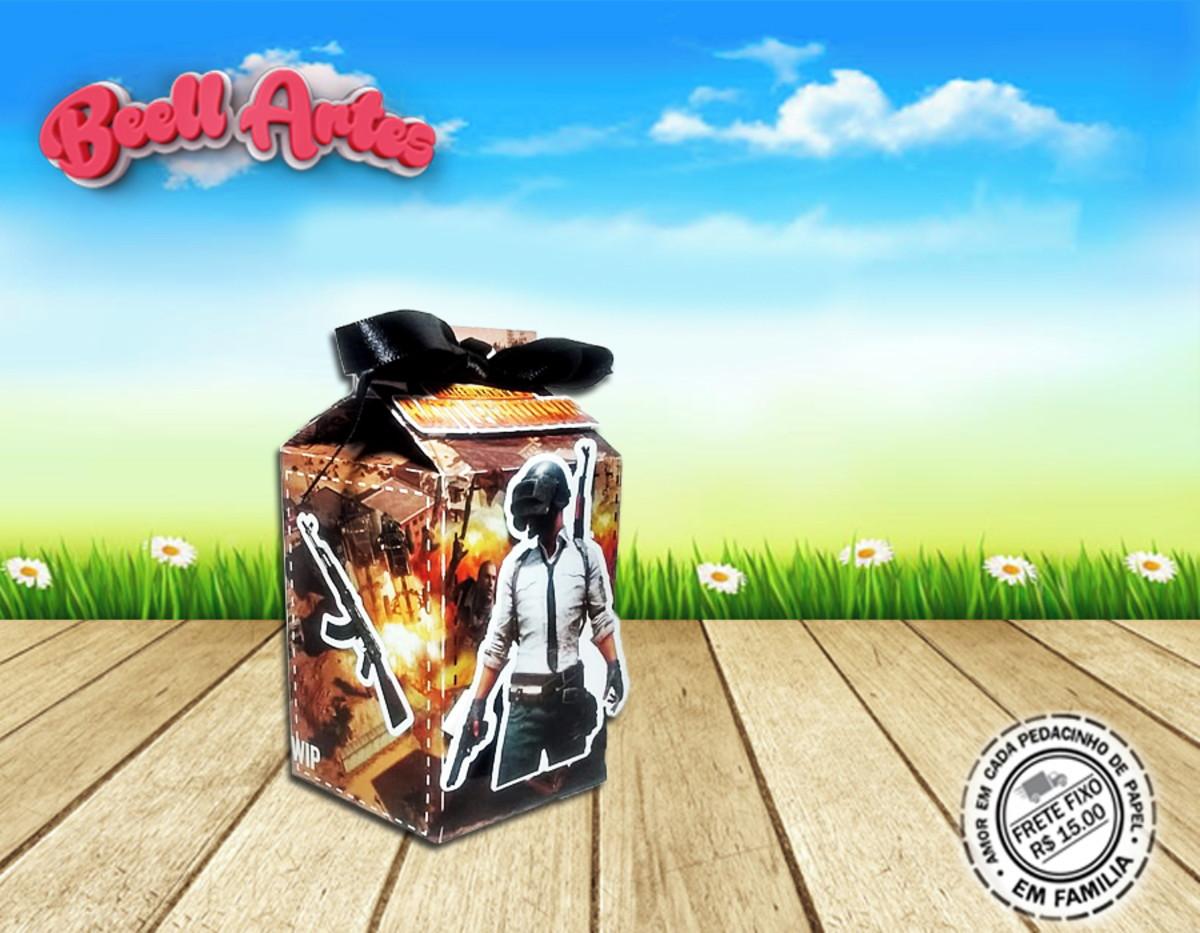 Caixa Milk 3d Game Pubg Mobile 3d No Elo7 Belartes Cf5097