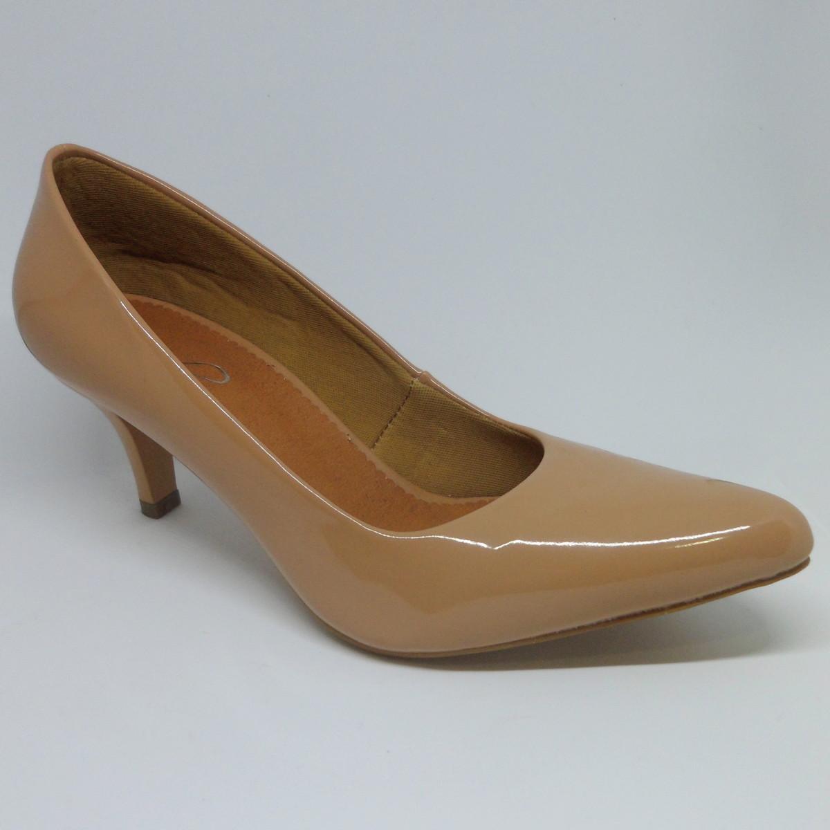 d7a3313c2 Sapato Scarpin Salto Baixo no Elo7