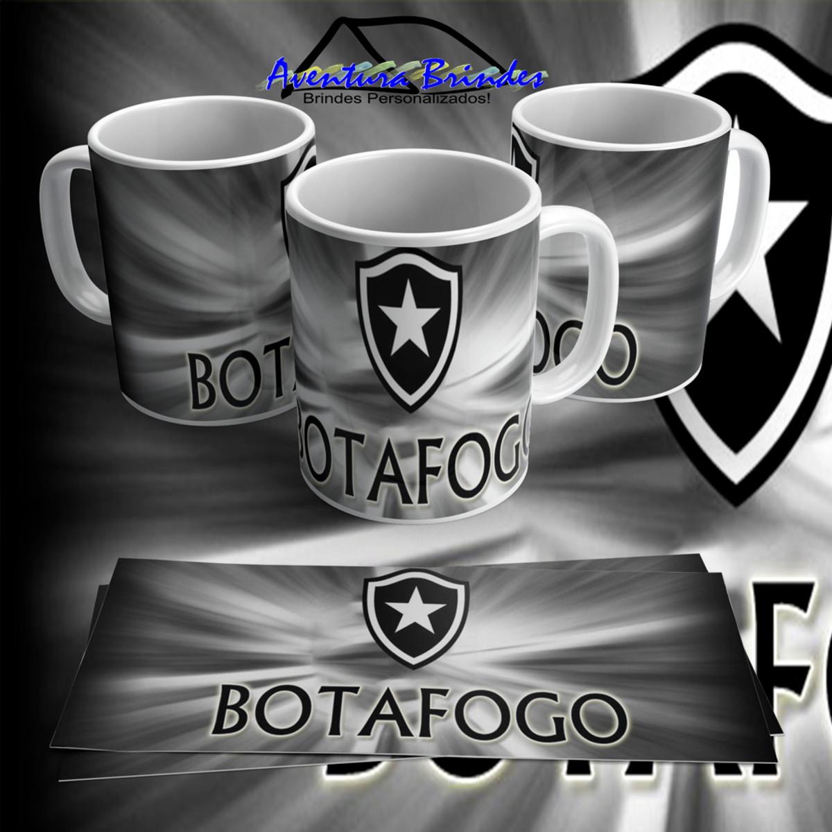 Caneca de Porcelana Botafogo 3 no Elo7  6bb43639338