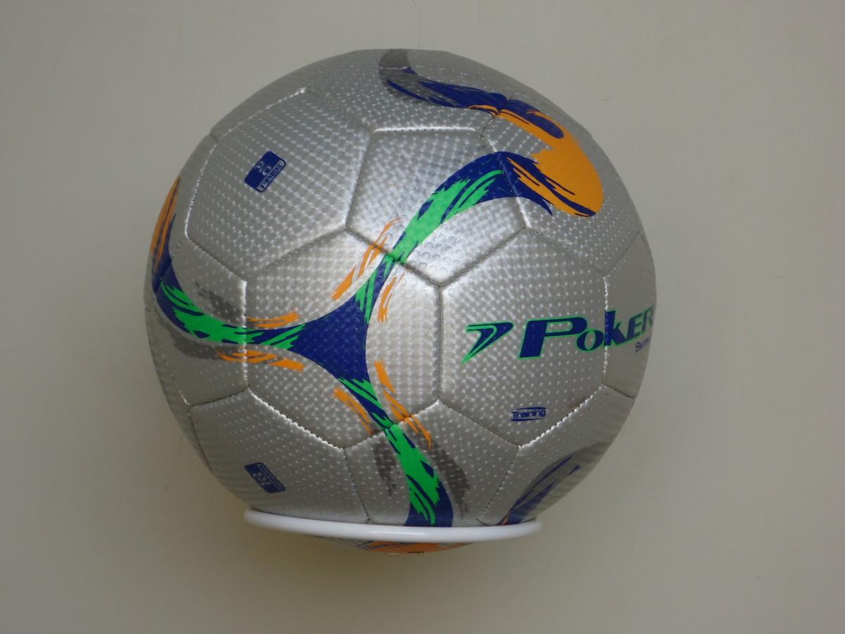 Suporte de parede para bolas futebol basquete volei no elo jpg 1200x900  Suporte para bola de fea82a8d17a75