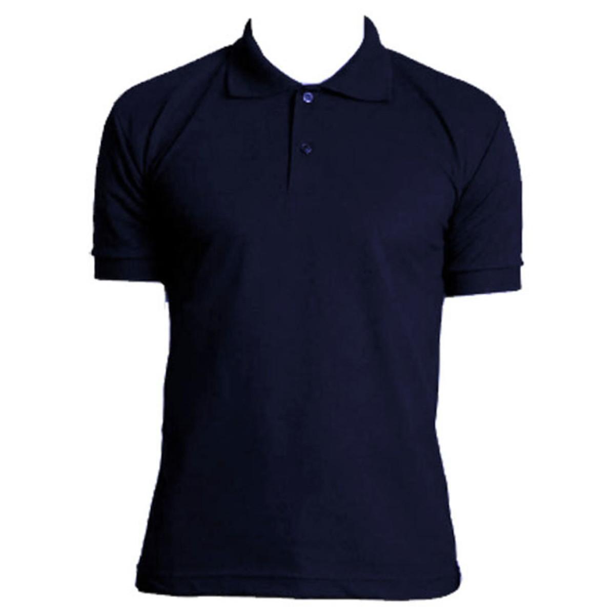 a2f832b4da Camisa Polo Masculino Azul Marinho Masson no Elo7