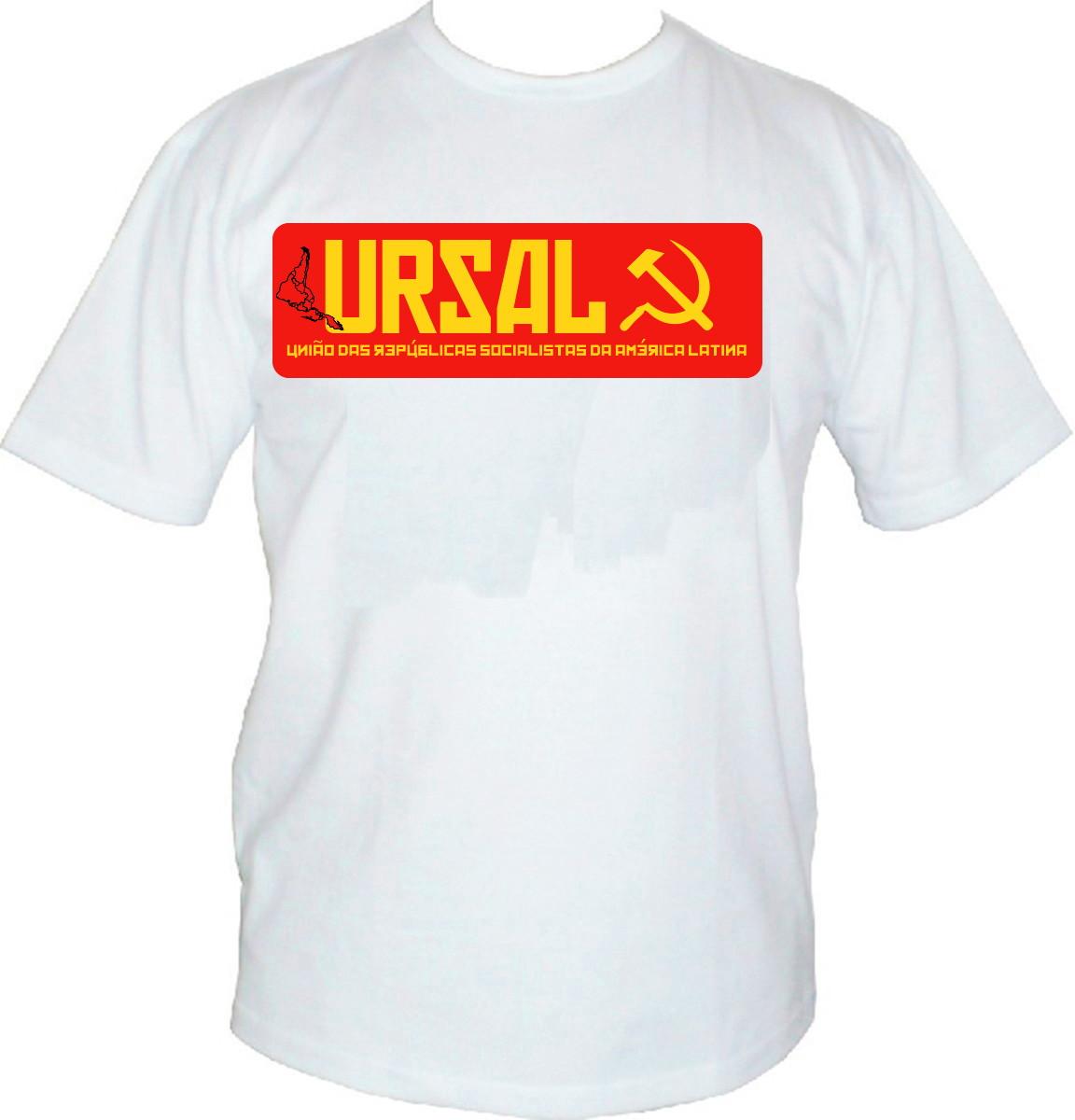 Camisa personalizadas Masc. ou Femin. - URSAL no Elo7  4df773b5cbcf1