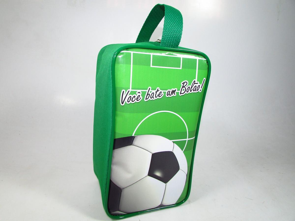 17f3464fdf Porta Chuteira tema Futebol no Elo7