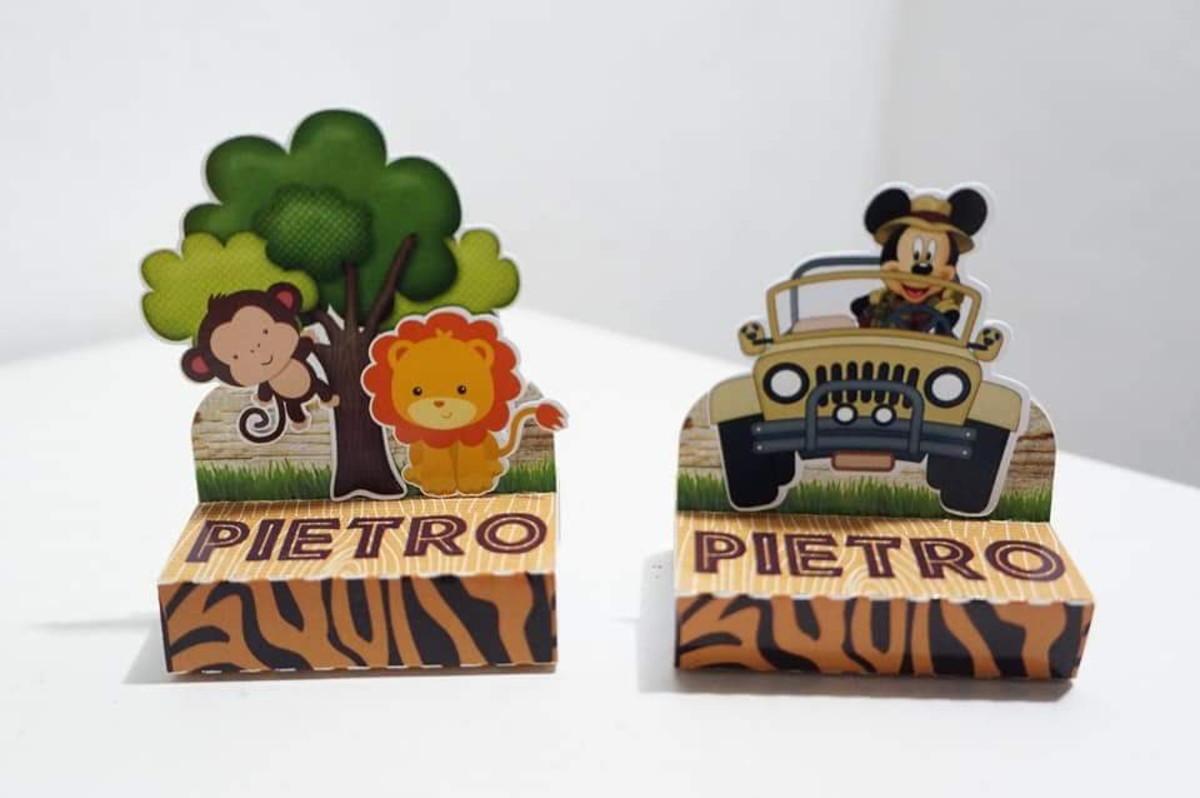 Porta Bis Duplo Mickey Safari No Elo7 Serendipity Arte Em Papel