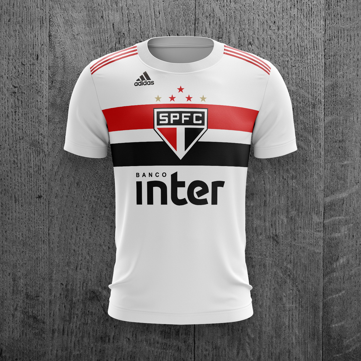 896f2865e Camiseta São Paulo Futebol Feminina Masculina Personalizada no Elo7 ...