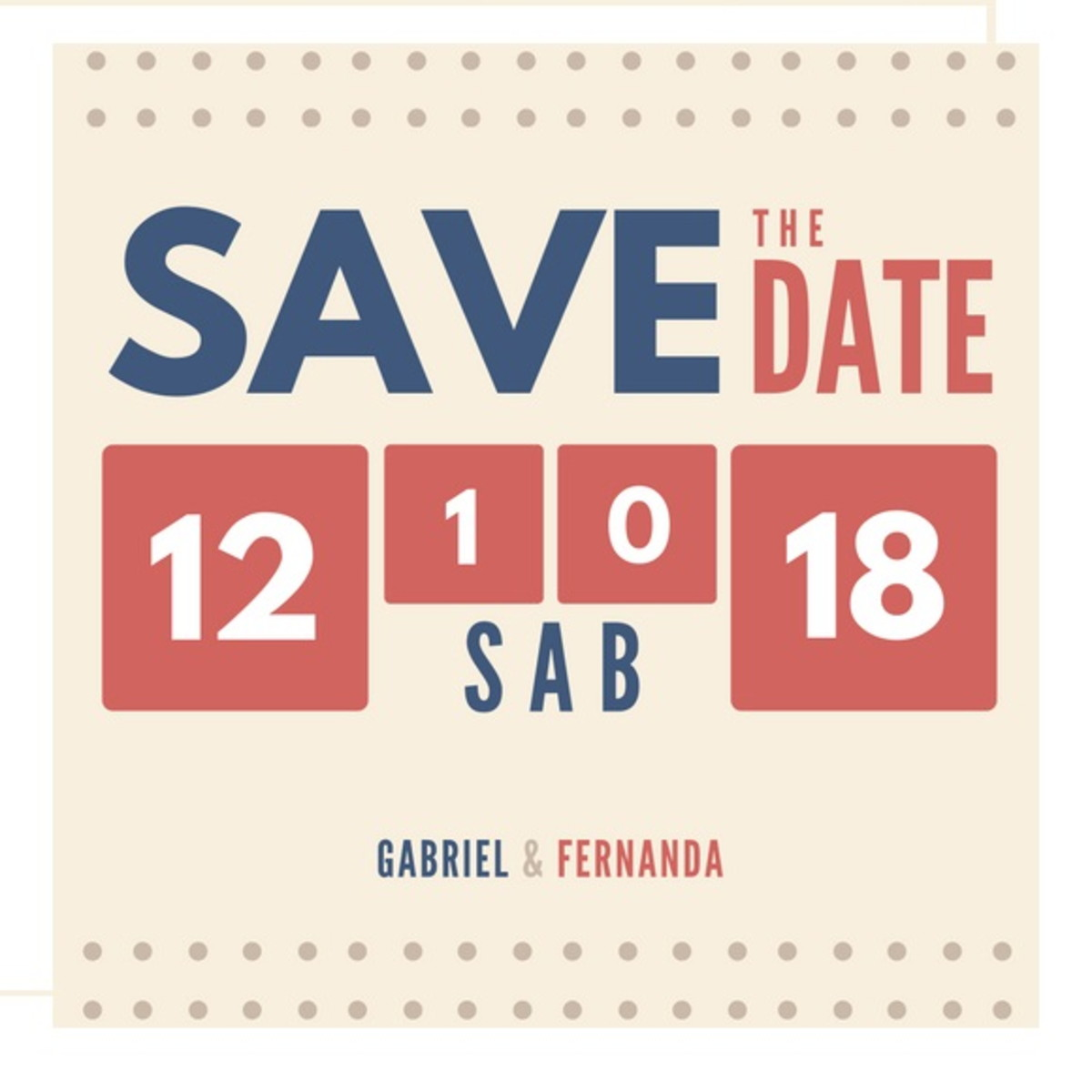 convite digital save the date no elo7 sweet candy art d03552
