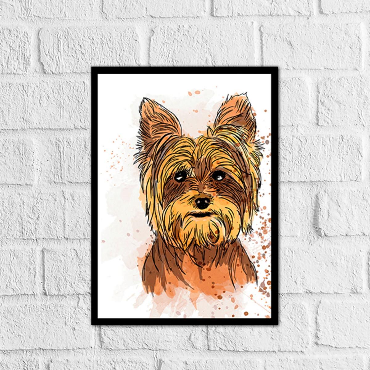 Placa Decorativa Animal De Estimação Gato Cachorro Frases