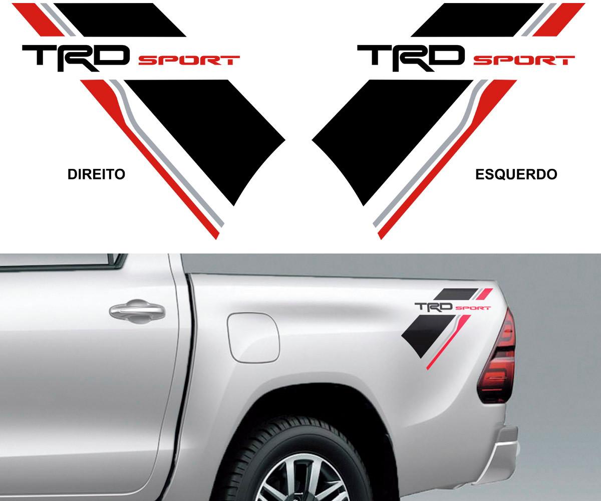Kit Adesivo Cacamba Toyota Hilux Trd Sport Produto Top No Elo7 Helio Yoshiyuki Nomura D073e6