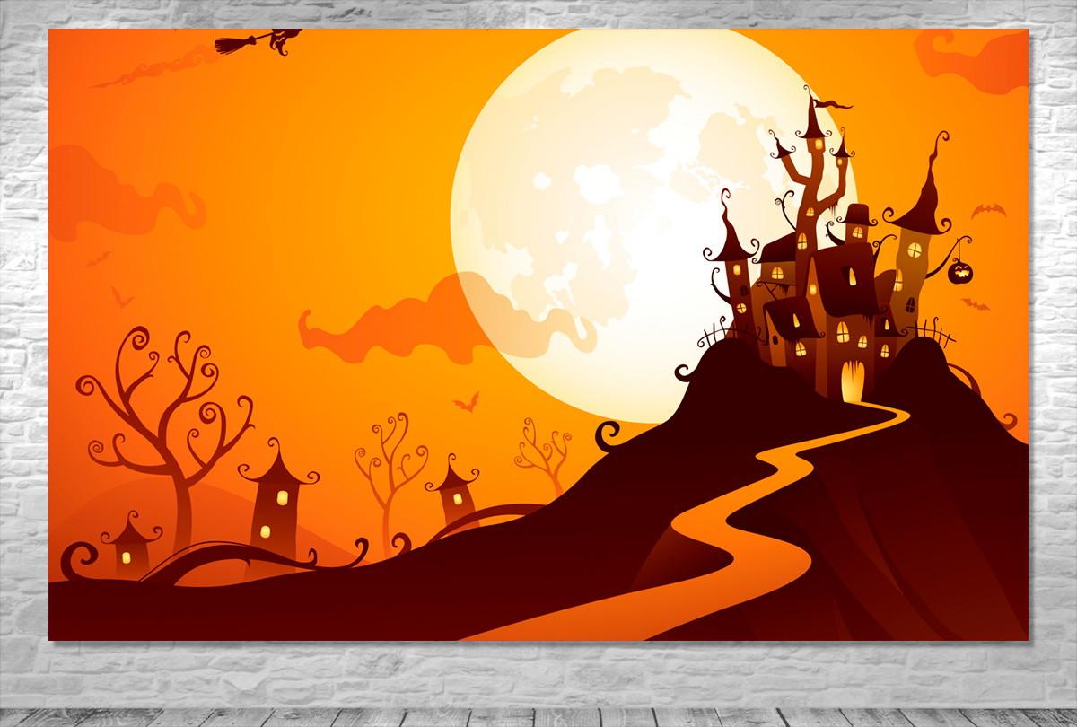 Painel Halloween Dia Das Bruxas Frete Gratis No Elo7 One