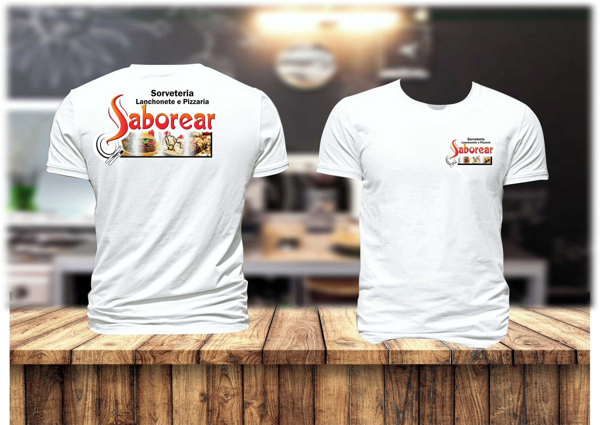 Zoom · Camiseta de Uniforme para Padaria c52e595783bc9