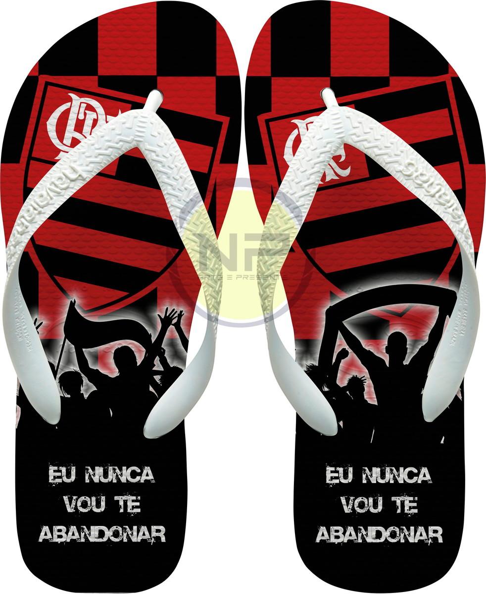 a3a974c0b Chinelo Havaianas Personalizado Flamengo no Elo7 | NICK ...