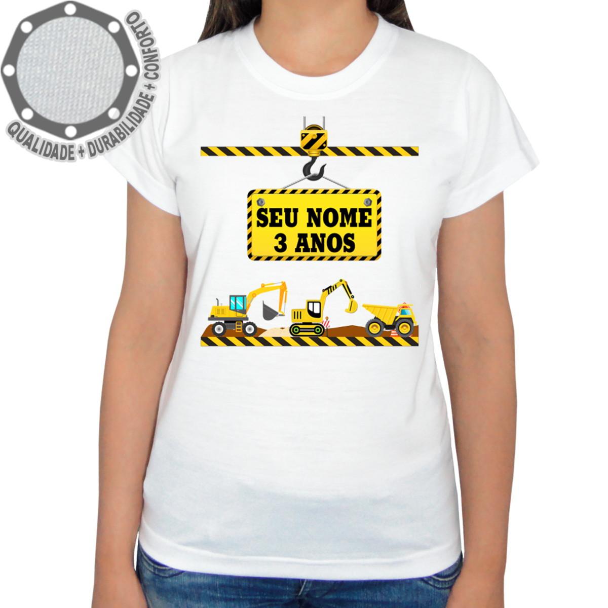 281920ab53 Camiseta Construção Camisa Maquinas ah01609 no Elo7