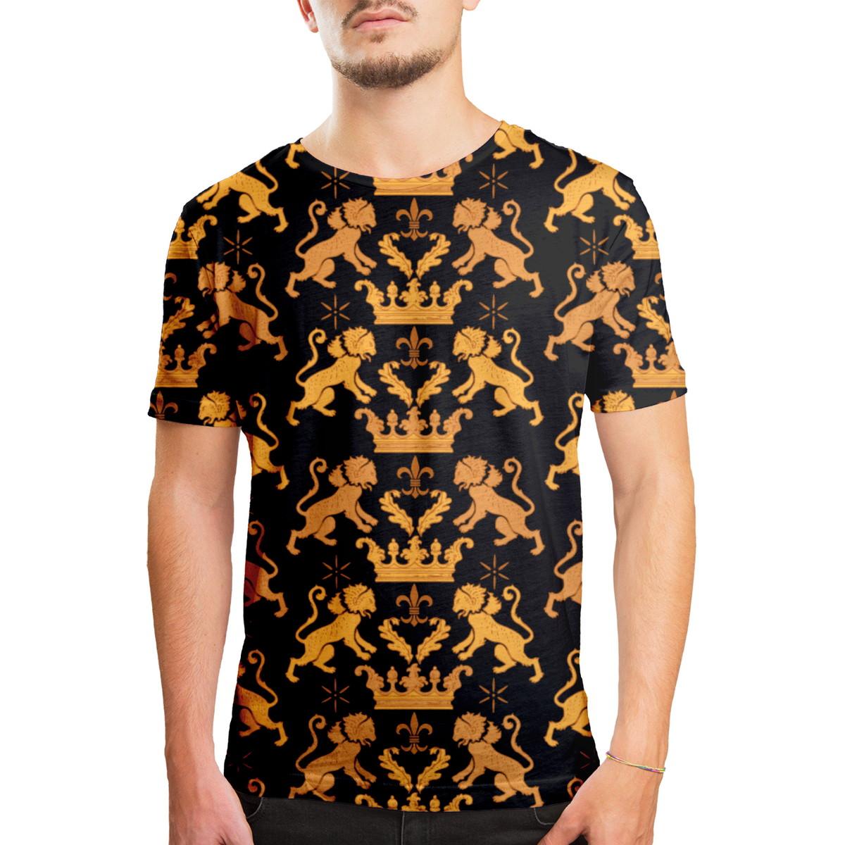 Camiseta Masculina Leão Real Estampa Digital no Elo7  a95e3dcaebffc