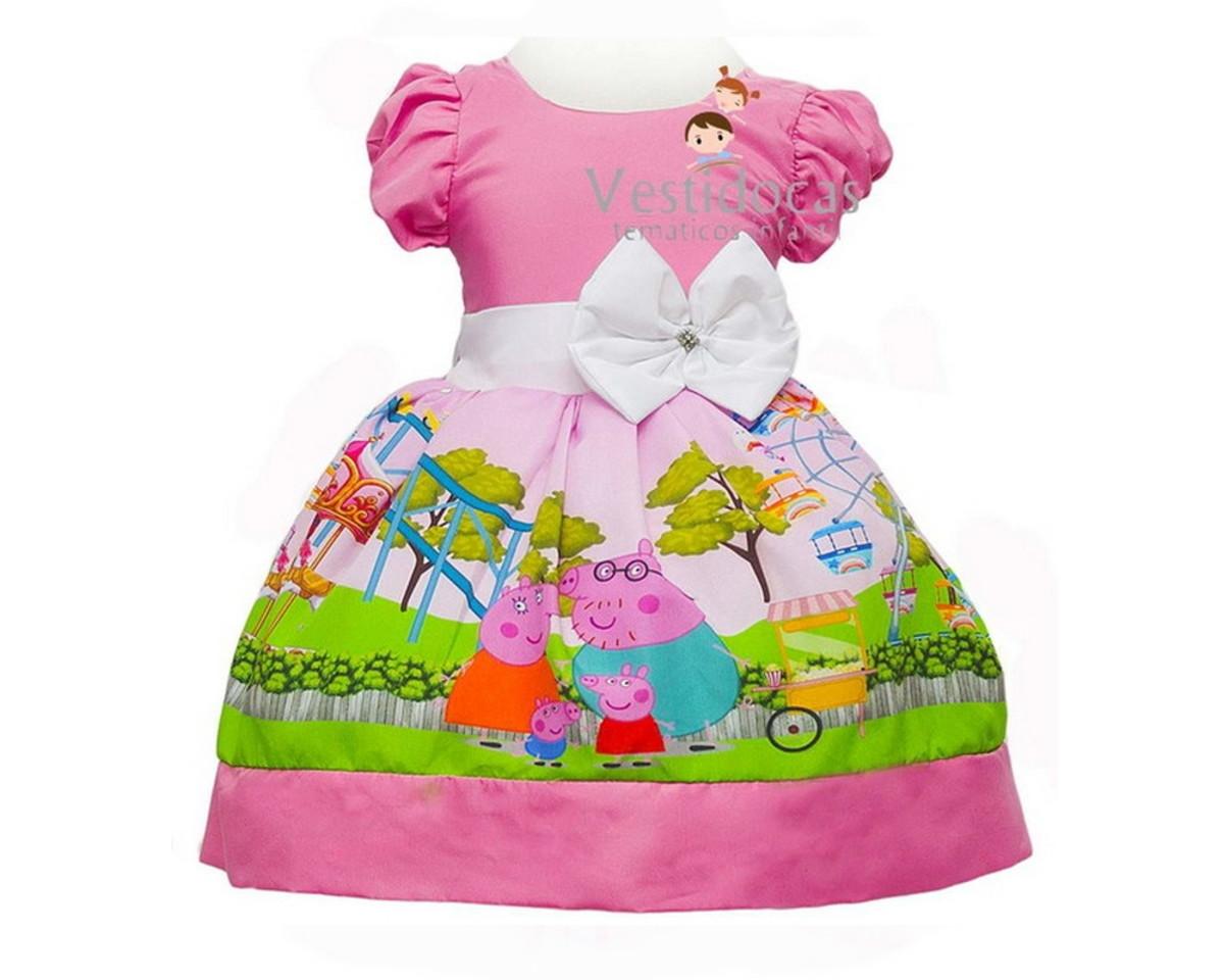 ae88c0eab Vestido infantil peppa pig no Elo7   Vestidocas (CE9B4B)