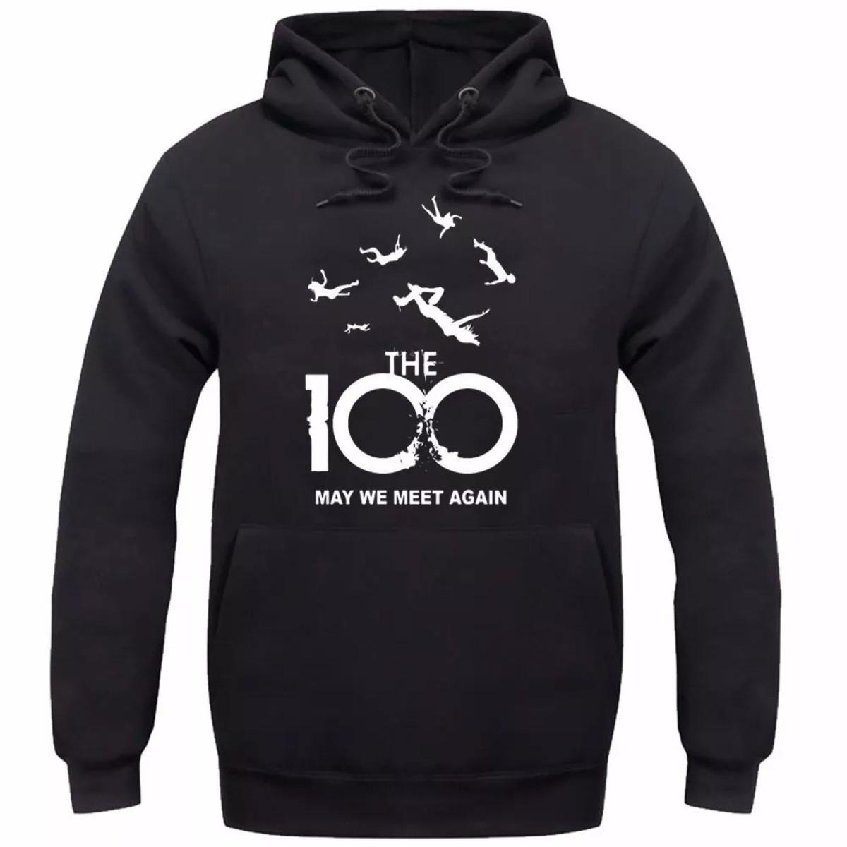3ca997ae0a0 Blusa De Frio Moletom Canguru The 100 - Promoção! no Elo7
