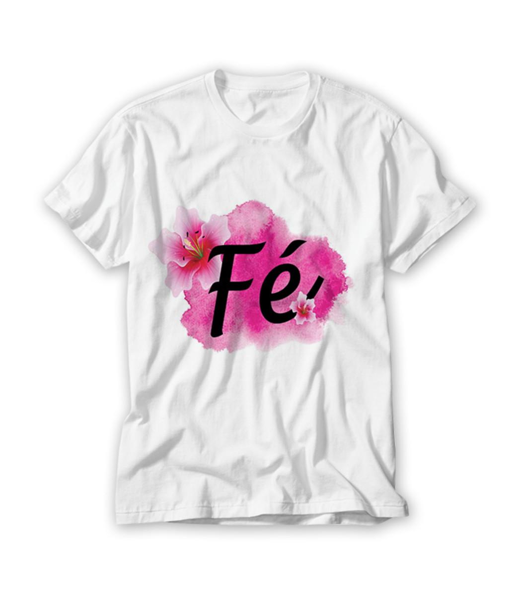 bac6f4c77d Camiseta Fé no Elo7