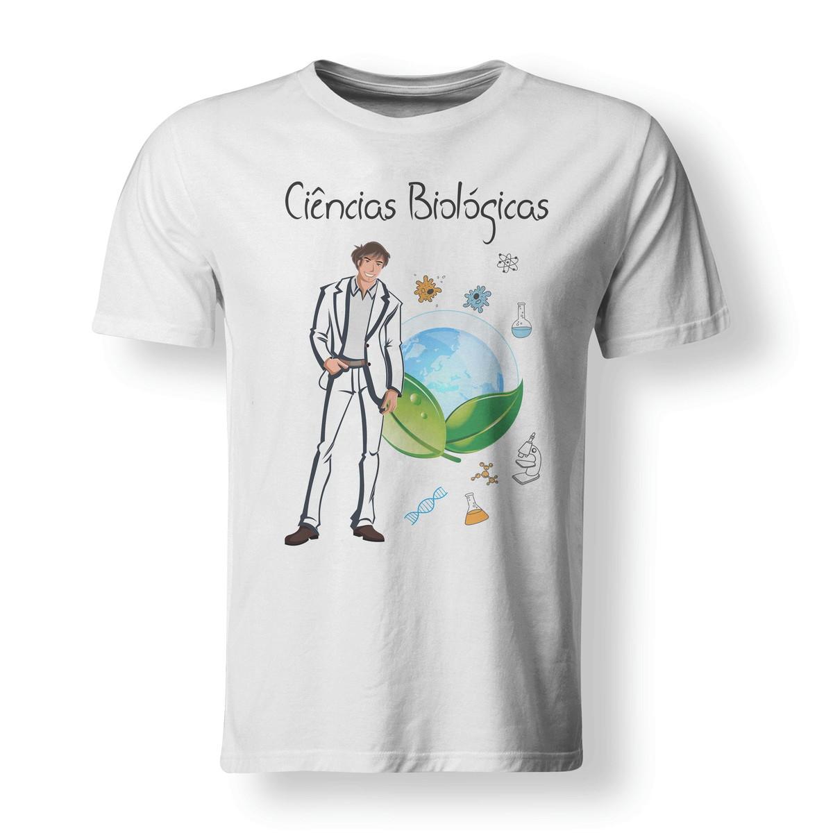 e158c6896 Camiseta Ciências Biológicas Profissões - A3 no Elo7
