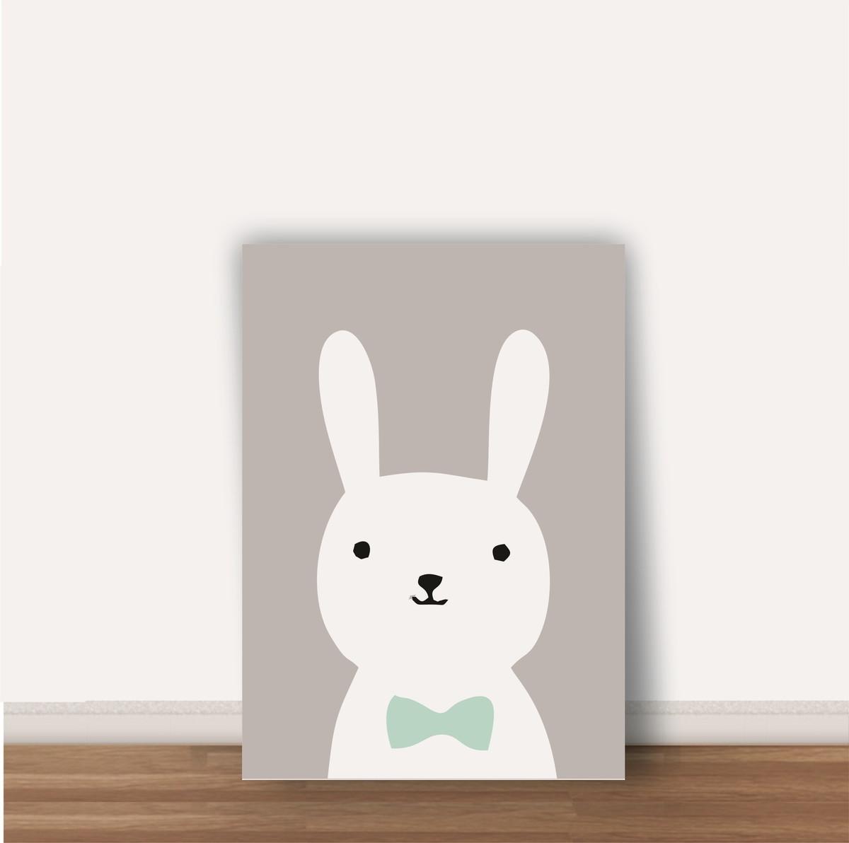 quadro nfantil coelhinho tamanho a4 no elo7 wood design quadros