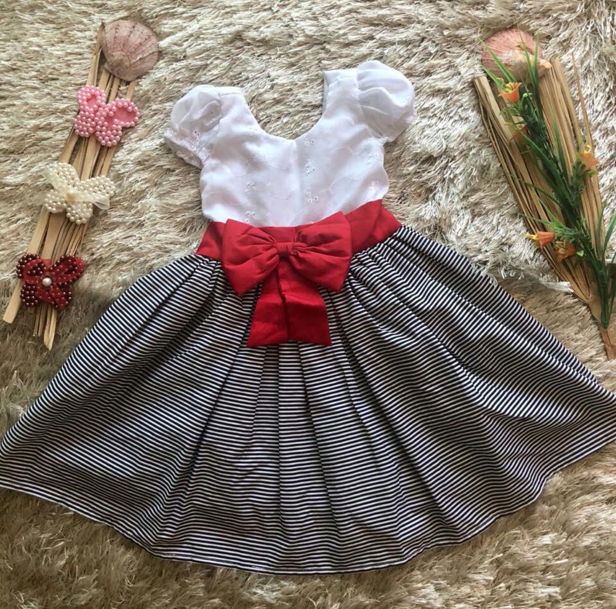 9294e28c675 Vestido infantil de festa aniversário estilo boneca