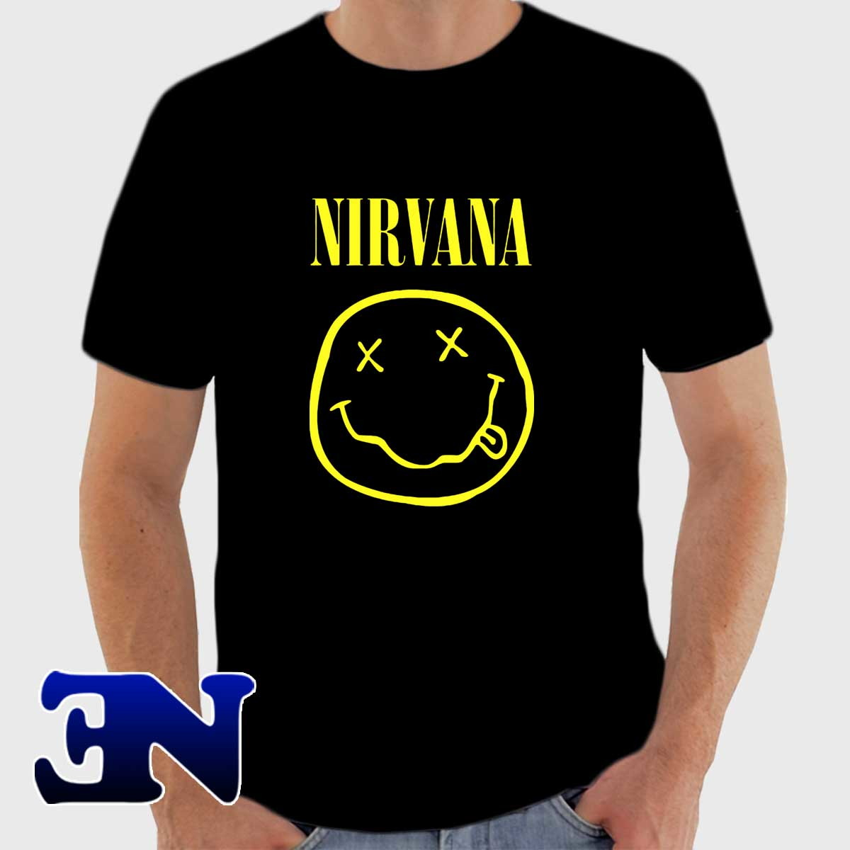 Camiseta Nirvana Kurt Cobain Rock In Roll Camisa no Elo7  d7555f932fd