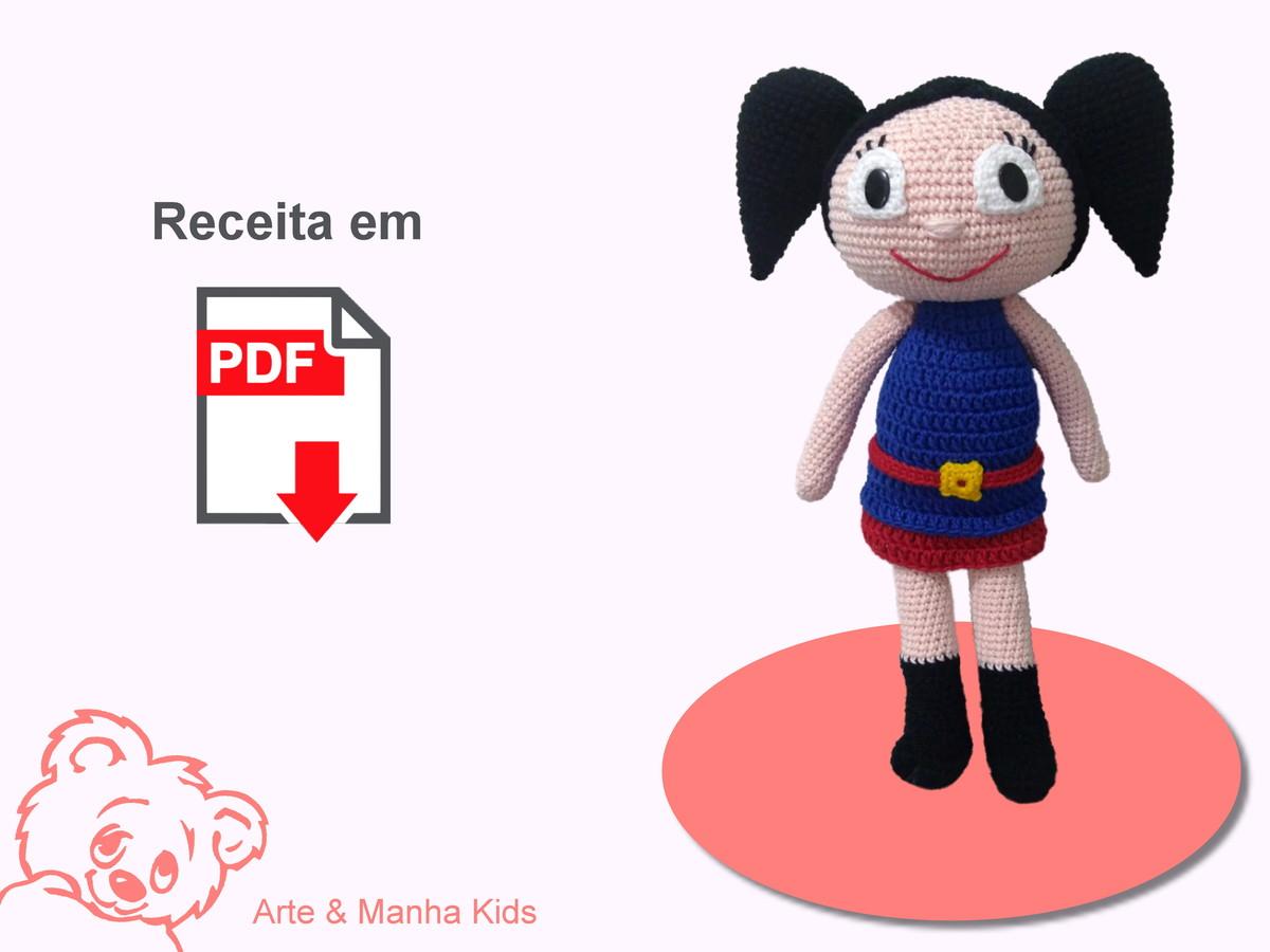 Boneca de Crochê ^.^ Corpinho Passo a Passo – Bonek de Crochê | 900x1200